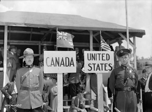 Canada US Border
